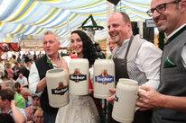 Volksfestplatz / Nürnberg: Nürnberger Frühlingsfest 2019 - Bieranstich