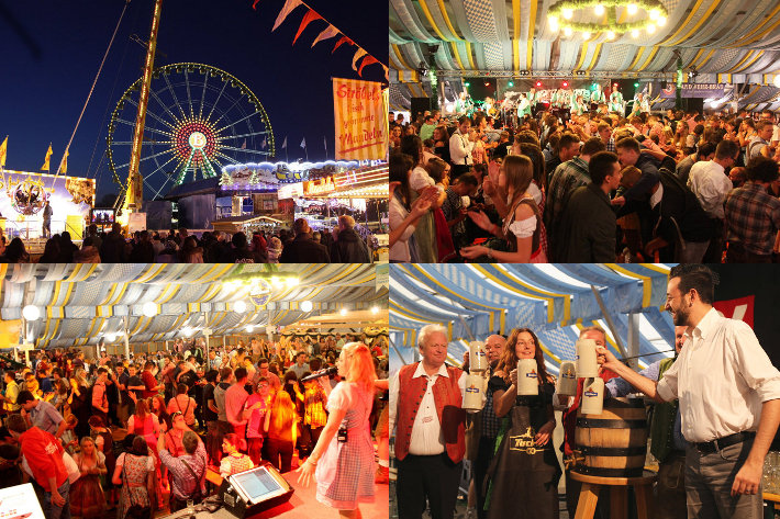 Volksfeste in der Region - hier wird gefeiert