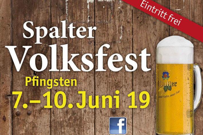 Spalter Volksfest vom 7. bis 10. Juni
